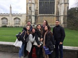 Touring Cambridge