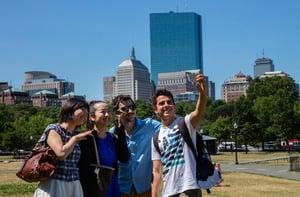 Boston-selfie