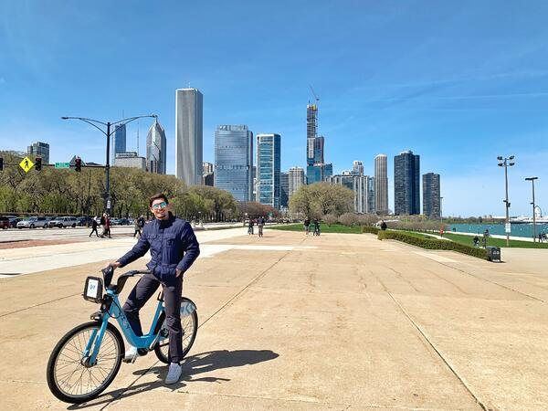 bike ride chicago