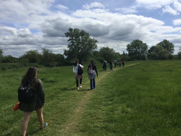 Students visit Grantchester