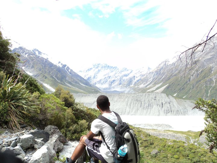 Mt Cook in NZ